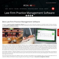 law firm management software Strategies For Beginners