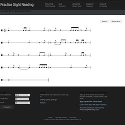 Practice Sight Reading - Random Measures
