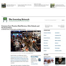 Bad Reviews, Elite Schools and Facebook Fakes