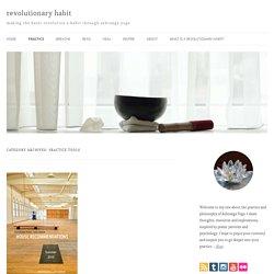Practice tools Archives - revolutionary habit