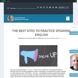 The Best Sites To Practice Speaking English