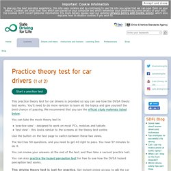 DVSA - Safe Driving for Life