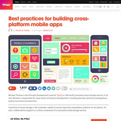 Best Practices for Building Cross-Platform Mobile Apps