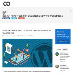 Best UX Design Practices for Designers New to WordPress
