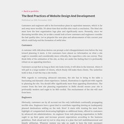 The Best Practices of Website Design And Development
