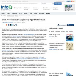 Best Practices for Google Play App Distribution