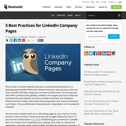 LinkedIn Best Practices for Brands