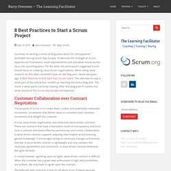 8 Best Practices to Start a Scrum Project - Scrum.org Community Blog