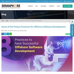 Some of the Proven Practices for Offshore Software Development - Home