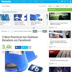 5 Best Practices for Fashion Retailers on Facebook