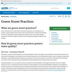 Green Streets, Green Jobs, Green Towns (G3) Program