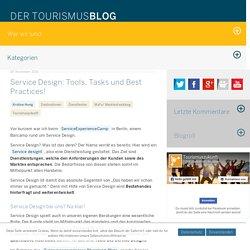 Service Design: Tools, Tasks und Best Practices! » Tourismuszukunft
