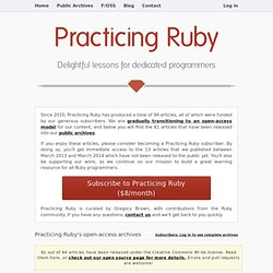 Ruby Best Practices - Book