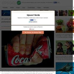 20 usos prácticos para la Coca Cola que prueban que no pertenece en el cuerpo humano