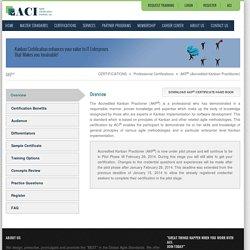 Agile Project Management Practitioner Training