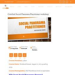 Certified Social Panorama Practitioner workshop - ChangeWorx