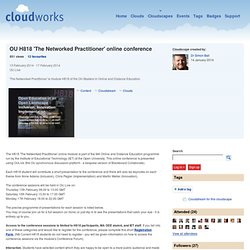OU H818 'The Networked Professional' online conference