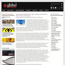 Global Policy Journal - Practitioner, Academic, Global Governance, International Law, Economics, Security, Institutions, Comment & Opinion, Media, Events, Jou