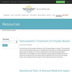 Pain Practitioner Articles - American Academy of Pain Management