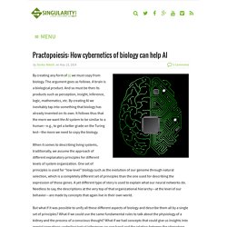 Practopoiesis: How cybernetics of biology can help AI