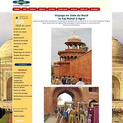 le Taj Mahal à Agra Inde du Nord Uttar Pradesh patrimoine de l'humanité