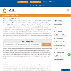 LIC's Jeevan Pragati Plan 938 Features, Reviews, Premium and Maturity