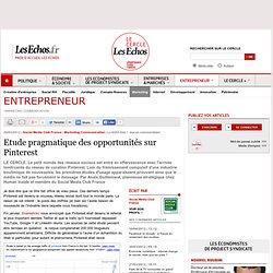 Etude pragmatique des opportunités sur Pinterest