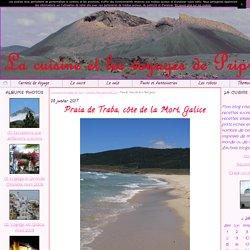 Praia de Traba, côte de la Mort, Galice