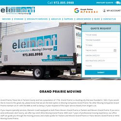 Grand Prairie Moving Companies, Movers and Packers, Piano Moving, Wine Storage