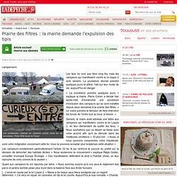Prairie des filtres: la mairie demande l'expulsion des tipis - Toulouse