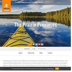 The Prairie Provinces Guide