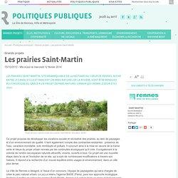 Le projet de Parc naturel urbain des prairies Saint-Martin