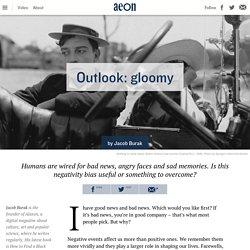 Praise feels good, but negativity is stronger – Jacob Burak