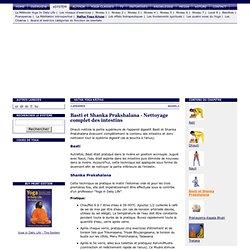 Basti et Shanka Prakshalana (Nettoyage complet des intestins) - Hatha Yoga Kriyas