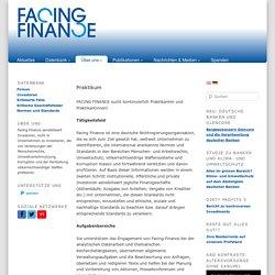 Facing Finance