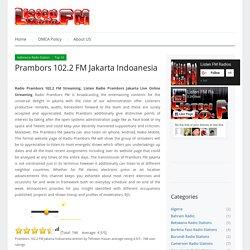 Prambors 102.2 FM Jakarta Streaming Online