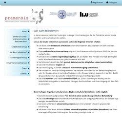 prämensis-Studie