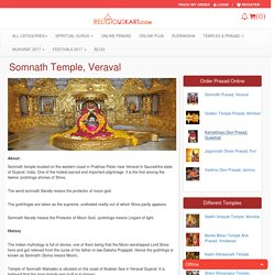 Book your Puja and order Prasad from the famous Somanath Temple