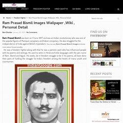 Ram Prasad Bismil Images Wallpaper ,Wiki , Personal Detail