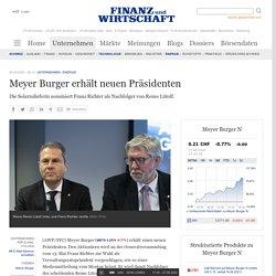 Meyer Burger erhält neuen Präsidenten