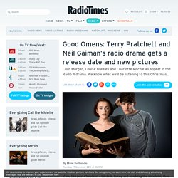 Good Omens news: Terry Pratchett and Neil Gaiman's 1990 novel Radio 4 adaptation gets a Christmas release date