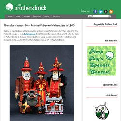 The color of magic: Terry Pratchett's Discworld characters in LEGO