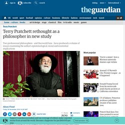 Terry Pratchett rethought as a philosopher in new study