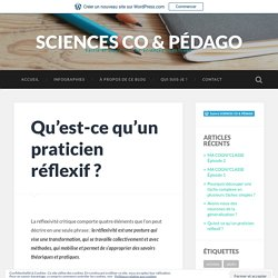 Qu'est-ce qu'un praticien réflexif ? – SCIENCES CO & PÉDAGO