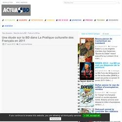 Une étude sur la BD dans La Pratique culturelle des Français en 2011