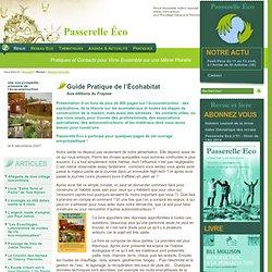 Guide Pratique de l'Écohabitat - Passerelle Eco - Ecologie