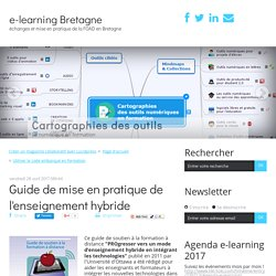 Guide de mise en pratique de l'enseignement hybride - e-learning Bretagne