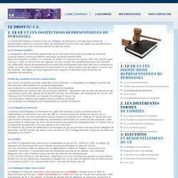 Le site pratique du Comité d'Entreprise - C.E. > Droit de la Formation
