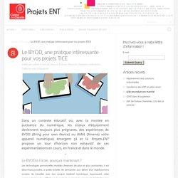 Le BYOD, une pratique intéressante pour vos projets TICE