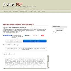 Guide pratique maladies infectieuses (Guide_pratique_maladies_infectieuses.pdf)